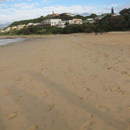 Morgan Bay Hotel from the beach