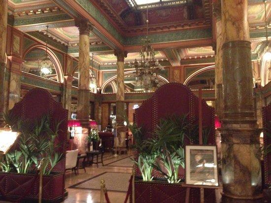 Hotel Metropole : Salone bar