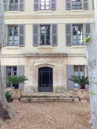 La Bastide de Boulbon : Front of Hotel