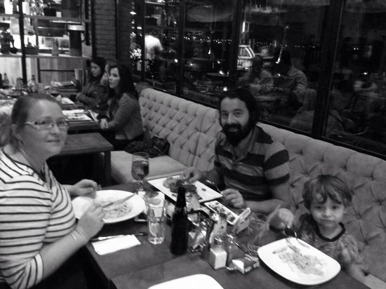 Mancero Kitchen: Last dinner out before the long summer season.
