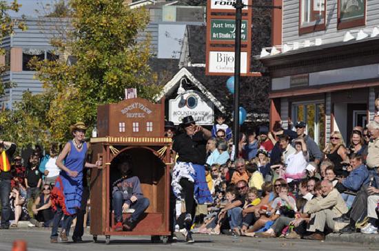 Cochrane Outhouse Race September 27, 2014