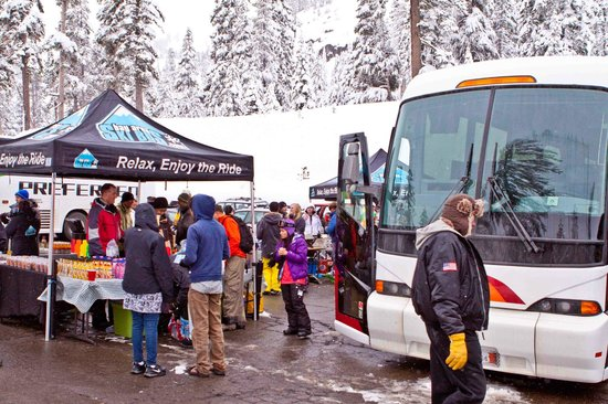 Apres Ski Party! Bay Area Ski Bus Style