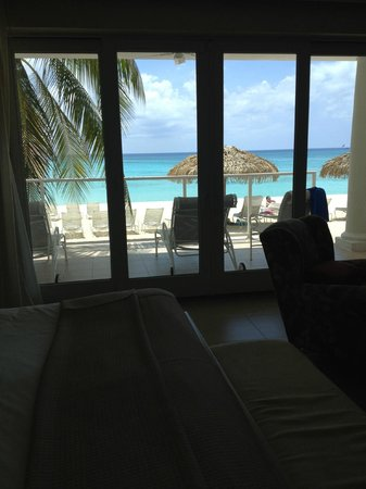 Caribbean Club: View from master bedroom Villa #1