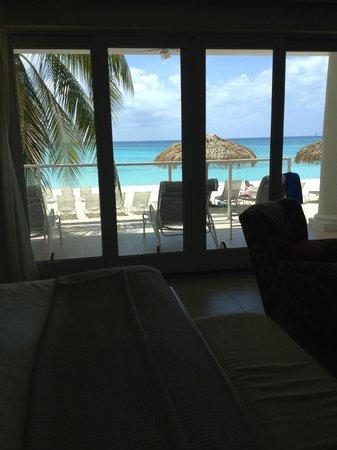 Caribbean Club : View from master bedroom Villa #1