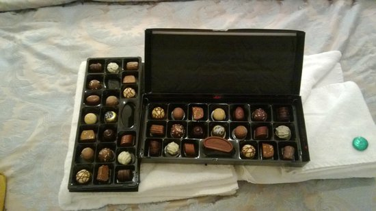 The Clontarf Hotel: chocolates
