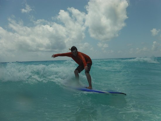 Gnarly's Surf School: the result of learning