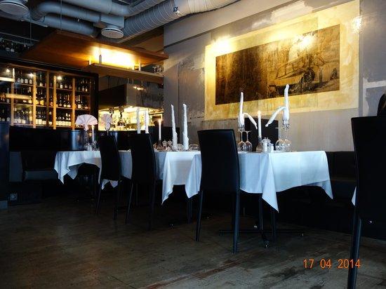 Bolgen & Moi: Restaurant inside