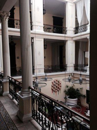Piedra de Agua Hotel Boutique : Interior balcony