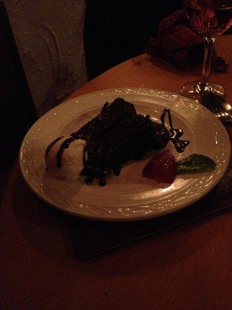 Villa Positano: Fudge cake yummy!