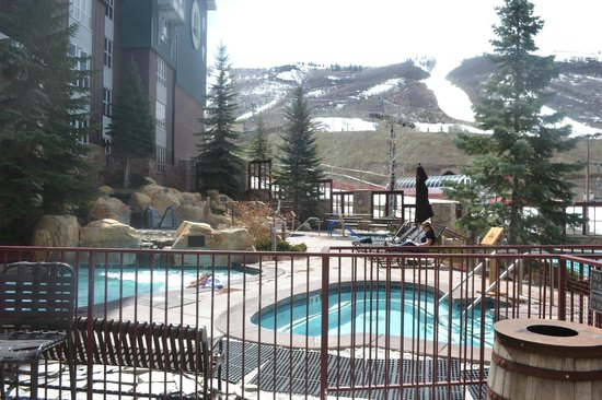 Marriott's MountainSide: Another view at pool area.