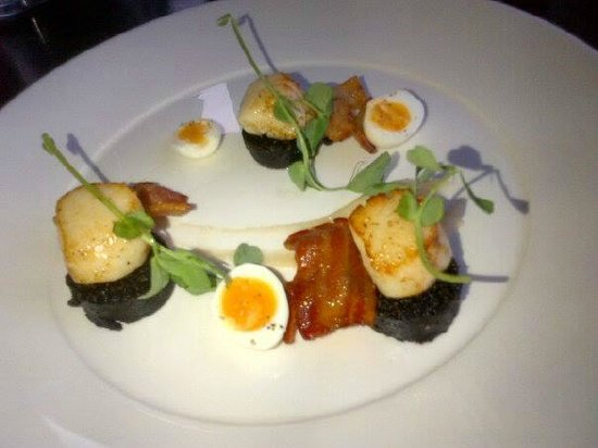 The Douglas Hotel : Our evening meal starter.
