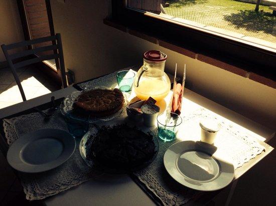 B&B Al Fondaco: Desayuno buenísimo