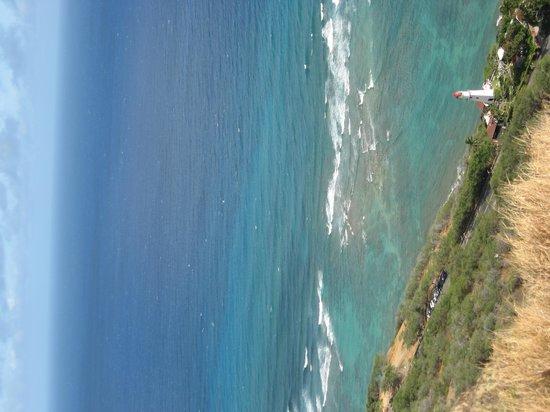 Lighthouse at the bottom of Diamond Head