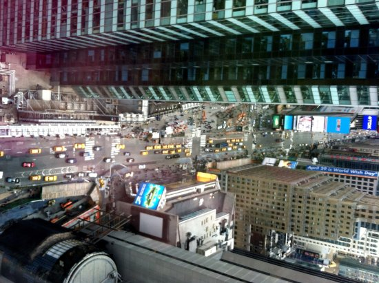 DoubleTree Suites by Hilton Hotel New York City - Times Square : our view...