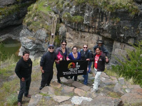 Inti Sun Trek: The last Inca Bridge