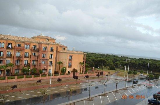 Apartamentos Leo Deluxe: vista desde el balcón