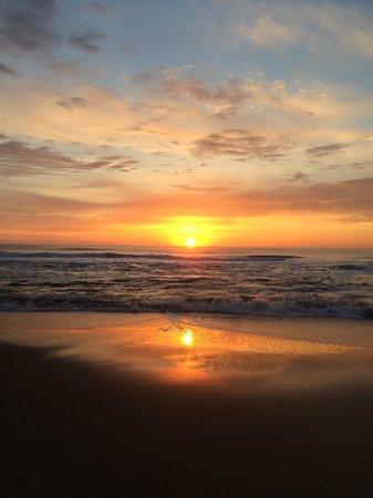 Ocean Suites : Sunrise from 7th floor