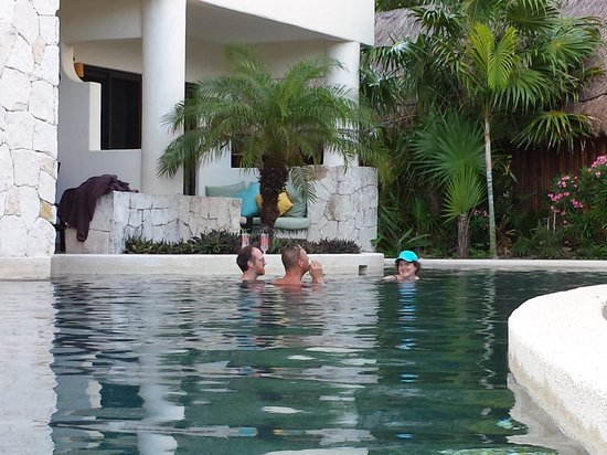 Secrets Maroma Beach Riviera Cancun: Room with a pool