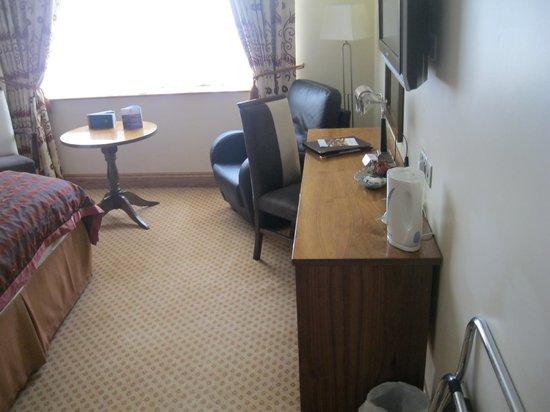 Glengarriff Park Hotel : un bureau spacieux et fonctionnel