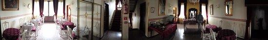 Hotel Villa Gasparini: Sala di ristoro al primo piano