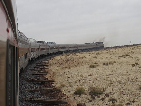 Grand Canyon Railway : The train en route