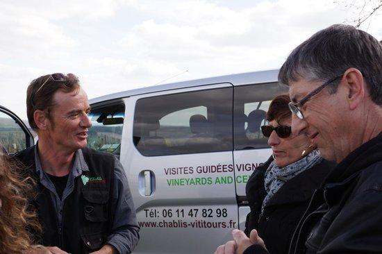 Chablis Vititours: Transport en MiniVan super pratique !