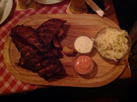 Pürstner: costine di maiale con patate