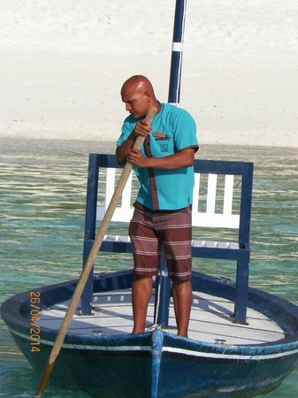 Meeru Island Resort & Spa : Sailor
