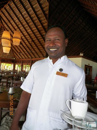 Meeru Island Resort & Spa : Whats for lunch