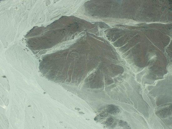 Lineas de Nazca: Astronauta
