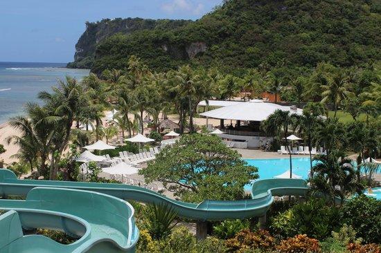 Hotel Nikko Guam: Горка