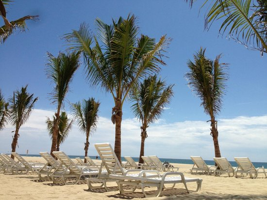 Barcelo Gran Faro Los Cabos : Chairs at the beach