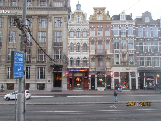 Ibis Styles Amsterdam Central Station: Foto tirada de dentro do quarto do hotel Ibis