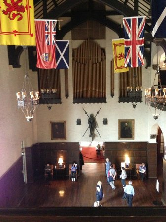 Casa Loma Flag Room (Oct. 2013)