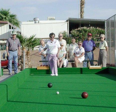 Mesa Spirit RV Resort: Bocce Ball Courts