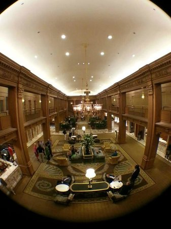 The Fairmont Olympic Seattle : Lobby
