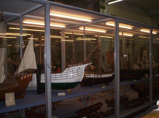 Museo Tecnico Navale della Spezia: riproduzioni di navi