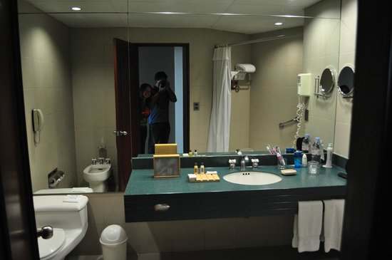 Delfines Hotel & Convention Center: banio