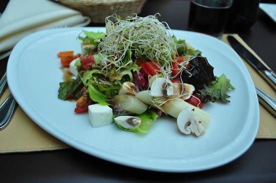 Delfines Hotel & Convention Center: super ensalada