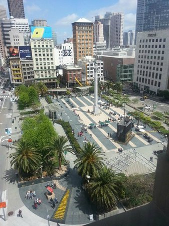 The Westin St. Francis San Francisco on Union Square: View from my room during daytime
