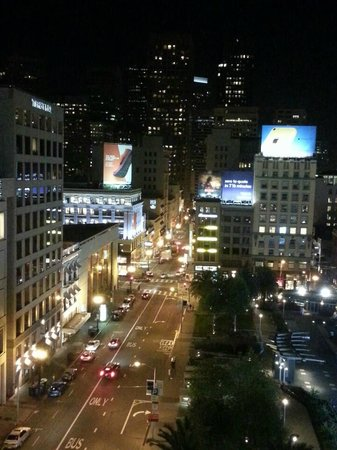 The Westin St. Francis San Francisco on Union Square: View from my room 2 at night