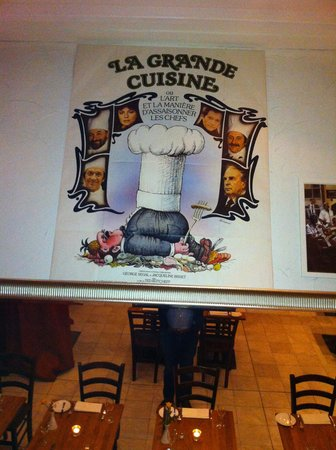La Brasserie: show of apprteciation of cooking