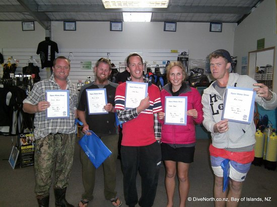 Dive North: Our new PADI Open Waters divers!!