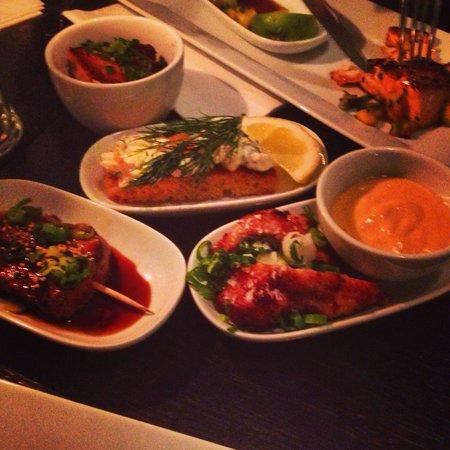 Plockepinn Restaurant & Bar: Tapas Suecas!!!