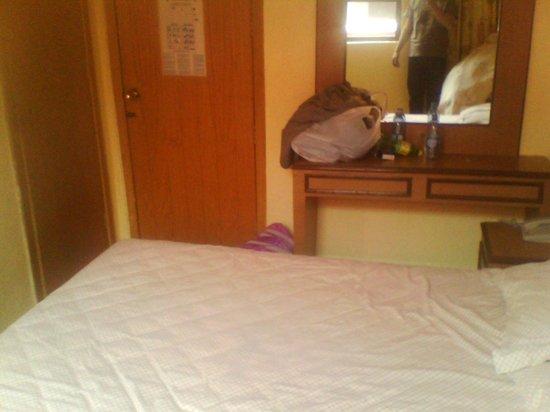 Hotel Congreso: Los cuartos son muy pequeños.