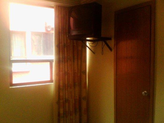 Hotel Congreso: Solo se veían 7 canales de cable.