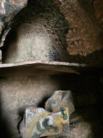 Catacombe di San Gennaro: Unico mosaico rimasto