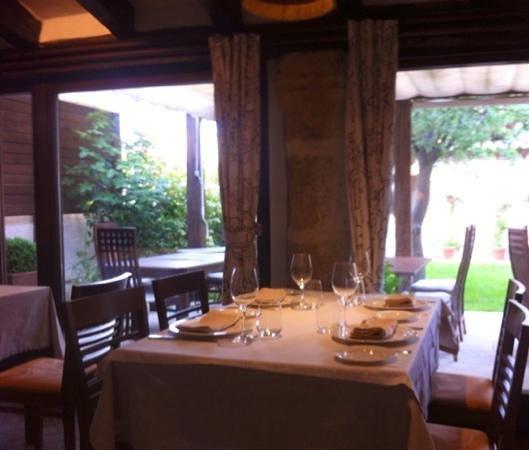 Foto de restaurante casa del arte simancas vista del for Restaurante casa jardin