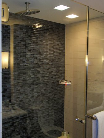 InterContinental New York Times Square: The shower