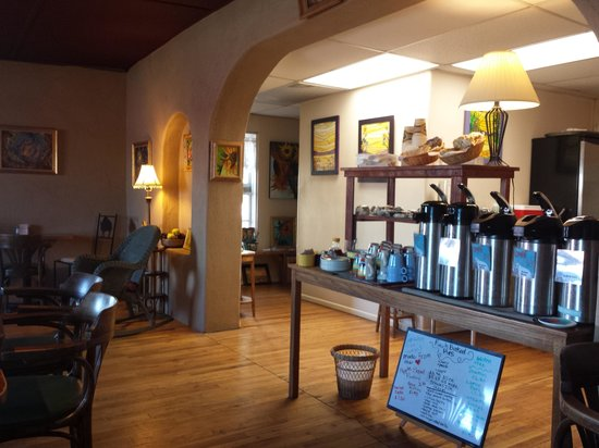 White Coyote Cafe : Nice Atmosphere